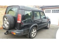 Landrover Discovery TD5 diesel automatic