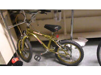 excellent Condition Gold bike Has been serviced