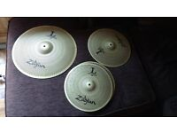 Zildjian l80 cymbals as new