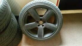 "Genuine 19"" C5 RS6 alloys"