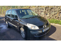 Renault Grand Scenic Dynamique 1.9 DCi 2007 07 130k Black Full Check History
