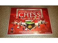Manchester United Champions Chess set
