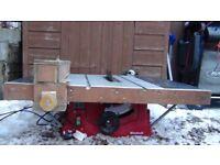 1500 watt Table /Bench saw