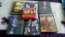 Assorted dvd