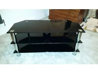 """LEVV TV7021050BCH TV STAND FOR UP TO 50"""" SCREENS"""