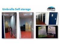 self-storage, storage Nottingham- UMBRELLA