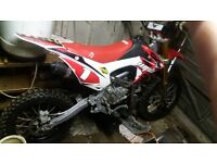wpb 160 with new crf110 frame i paid £999 im the first owner