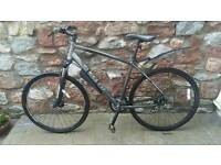 CARRERA CROSSFIRE 2.0 hybrid bike. Road mountain grey Mens XL