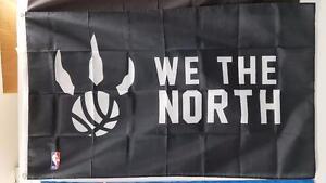 "Raptors ""We The North"" NBA Flag - 5' X 3' Large"