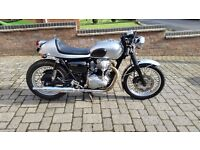 Stunning Kawasaki W650 - Cafe Racer - classic bike for sale - 1999/2000 - FSH - 3 owners