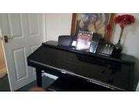 Yamaha clavinova cvp 209 pe , full size keyboard .