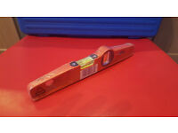 DRAPER 250MM CAST ALUMINIUM BOAT SPIRIT LEVEL PART NO.DBTL 45868