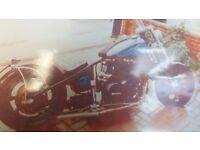 Kawasaki GPZ 900 hard tail chop