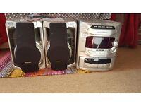 HiFi speakers cd player