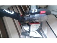 Redeye 210mm compound mitre saw with laser lens Generator