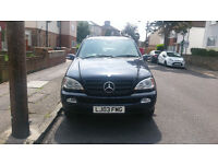 2003 Mercedes ML270 Auto 7 Seater MOT 06/2017, New Tyres 4x4