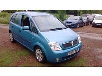 Vauxhall Meriva 1.7 CDTi 16v Enjoy 5dr Air Con , Clean Example
