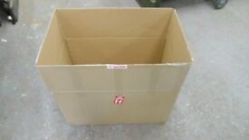 5 extra large very strong cardboard boxes 31 ins long x 18 wide x 19 ins deep. ideal for moving