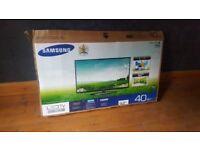 "Samsung 40"" LED-LCTD TV"