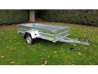 New Trailer 8.7 x 4.2 single axle and flat cover £900 INC VAT