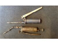 2 Pump Grease Guns