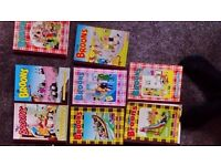 Oor wullie and Broons Annuals collectables