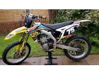 2009 Suzuki rmz450 fuel injected rmz 450 motocross off road bike kxf crf yzf ktm