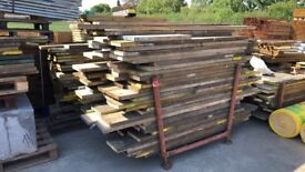 🌲 Used Scaffold Boards ~ 80p Per Foot