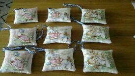 Home made Peter Rabbit sachets