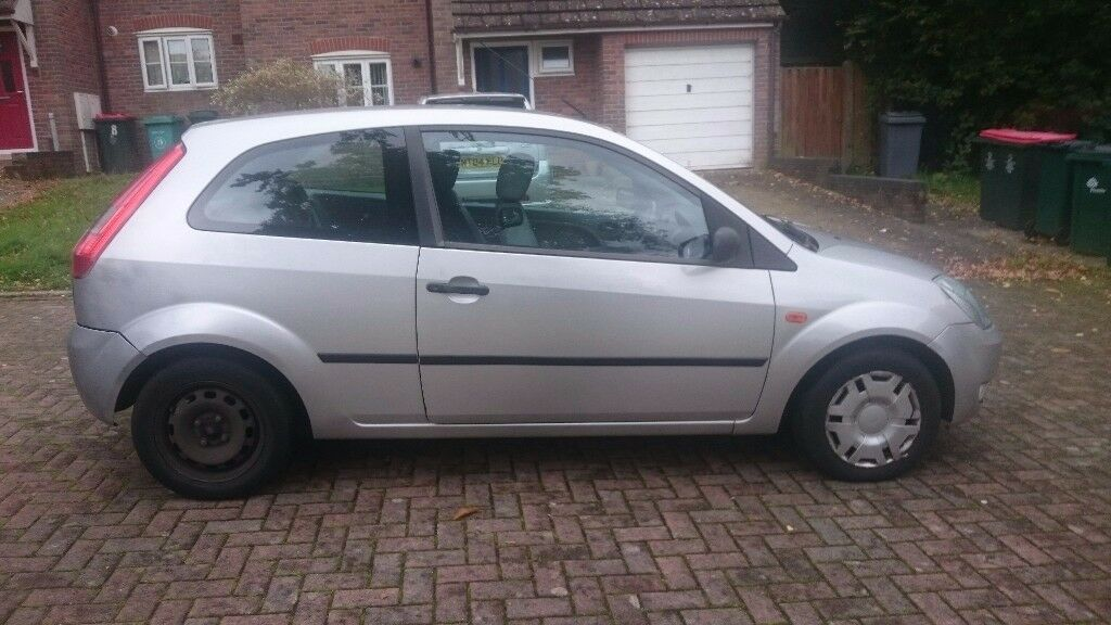 A Ford Fiesta for sale