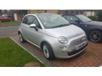 Fiat 500 lounge with sunroof and bluetooth