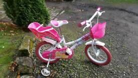 Girls bike Barbie