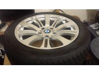 """19"""" BMW alloys with winter tyres"""