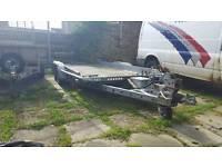 2012 brian james tiltbed car trailer no vat