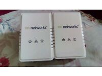 On Networks 200MB Powerline Kit (2x Adapters)