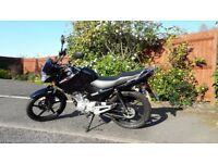 2016 Black Yamaha YBR 125cc Motorbike - Excellent Condition - Only 300 Miles!