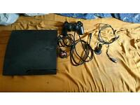 Ps3 with 1 controller and 14 games