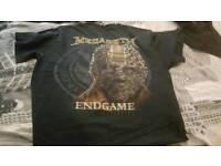 megadeth tshirt