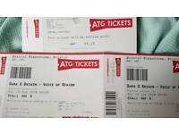 £55 The pair, TWO FRONT ROW Seats Dara Ó Briain Sat 29th Sept Britol Hippodrome... TEXT ONLY