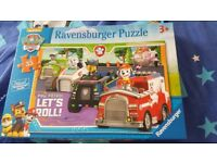 2 Paw Patrol Puzzles