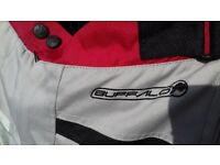 BUFFALO MOTORBIKE TROUSERS SIZE SMALL IN EXCELLENT CONDITION