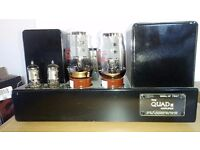 Quad II Power Valve Amplifiers 2 Blocks - Fully Working - All Valves Included