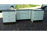 Bedside tables/chest of drawers