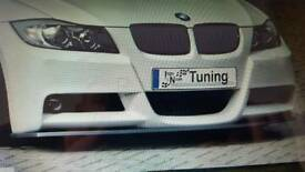 BMW E90 Msport Ingo Noak front splitter