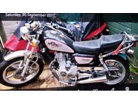 Huoniao HN125-8 Motorbike. 65 plate.