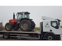 Tractor, plant and machinery haulage