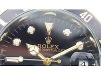 Rolex submarinerblack dial