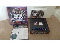 DOCTOR WHO DVD BOARD GAME PAUL LAMOND GAMES 2012 OPENED NEVER USED