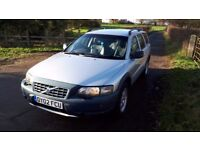 Volvo XC70 Cross Country, 12 Months MOT, FSH, 2.4 Petrol, Automatic, Estate in Silver, Tow Bar
