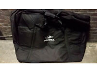 KONNIX bicycle travel bag (padded with big inner pockets)